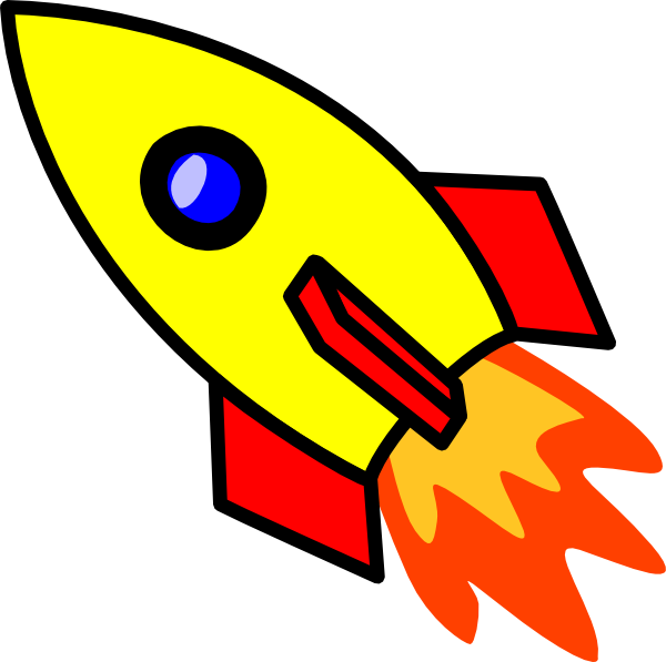 [image of spaceship blasting off]